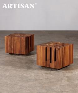 Cubo designerski stolik kawowy drewniany | Artisan | Design Spichlerz