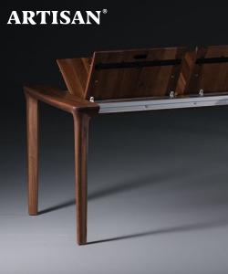 Tara designerski drewniany stół rozkładany | Artisan | Design Spichlerz