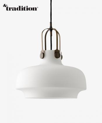 Copenhagen Pendant SC7 Opal designerska lampa wisząca skandynawska ze szła mlecznego   &tradition   Design Spichlerz