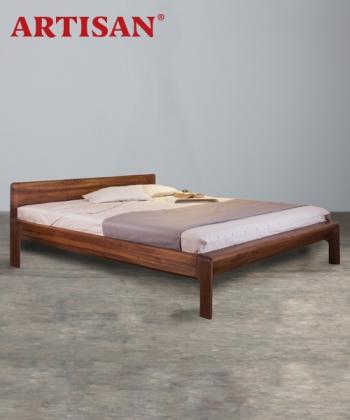 Invito designerskie łóżko drewniane   Artisan   Design Spichlerz