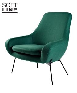 Noomi String designerski fotel skandynawski | Softline | Design Spichlerz