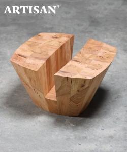 Kart designerski stolik drewniany | Artisan | design Karim Rashid | Design Spichlerz