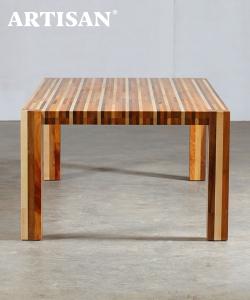 Kilim designerski stół drewniany | Artisan | Design Spichlerz