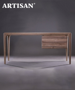 Latus designerskie biurko drewniane | Artisan | Design Spichlerz