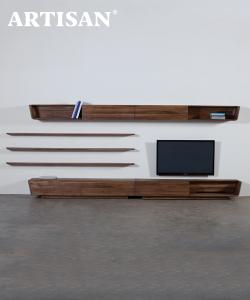 Latus Modular drewniany system do pokoju dziennego | Artisan | Design Spichlerz