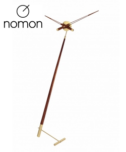 Nomon Pisa Gold designerski zegar stojący | Design Spichlerz