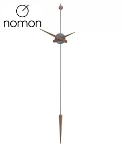 Nomon Punto y Coma T Graphite designerski zegar ścienny | Design Spichlerz