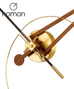 Nomon Cris Gold designerski zegar ścienny | Design Spichlerz