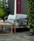 Virkelyst skandynawska sofa ogrodowa Ash (szary) | Skagerak | Design Spichlerz