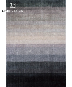 Combination Dark Blue skandynawski dywan designerski | Linie Design