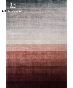 Combination Peach skandynawski dywan designerski | Linie Design