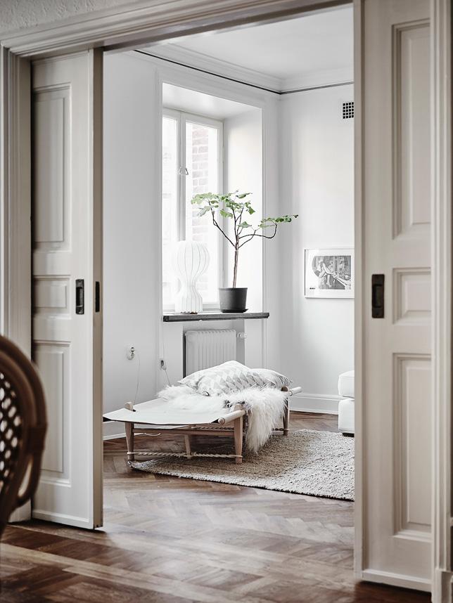 Jasny apartament skandynawski