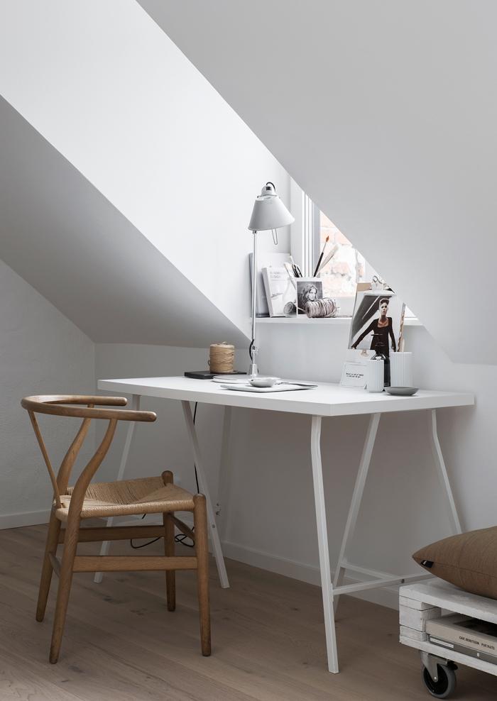 Mały loft skandynawski