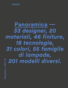 Katalog Foscarini Panoramica