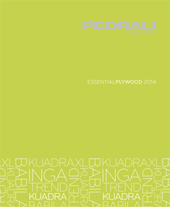 Katalog Pedrali Essential Plywood