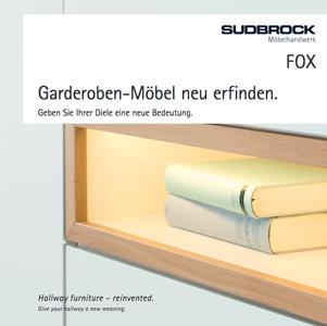 Katalog Sudbrock Garderoby