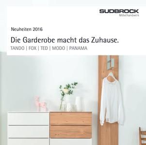 Sudbrock Garderoby Nowości 2016