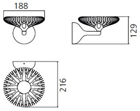 Artemide Florensis Parete wymiary