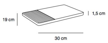 Groove Plate Muuto wymiary