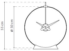 Nomon Aire zegar wymiary