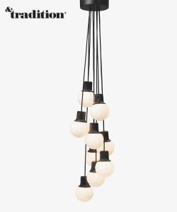 Mass Light Chandelier | &Tradition | design Norm Architects | Design Spichlerz