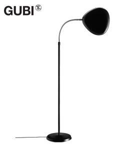 Cobra lampa podłogowa szaro-niebieska | design Greta M. Grossmann | Gubi | Design Spichlerz