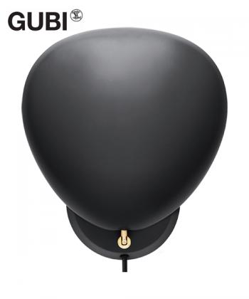 Cobra kinkiet czarny   design Greta M. Grossmann   Gubi   Design Spichlerz