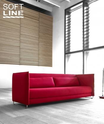 Metro sofa rozkładana z funkcją spania | Softline | design busk+hertzog | Design Spichlerz