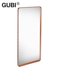 Adnet Rectangulaire lustro | Jacques Adnet | Gubi | Design Spichlerz