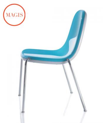 Butterfly krzesło niebieskie   Magis   Karim Rashid   Design Spichlerz