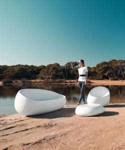 Stone fotel | Vondom | design Stefano Giovannoni