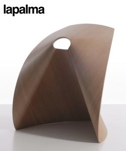 Ap stołek ze sklejki drewnianej | Lapalma | design Shin Azumi | Design Spichlerz