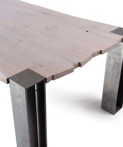 Lupus On Fire stół z litego drewna | Lupus 73