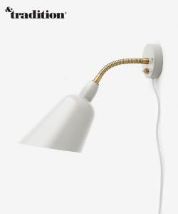 Bellevue AJ9 kinkiet biały | &tradition | design Arne Jacobsen