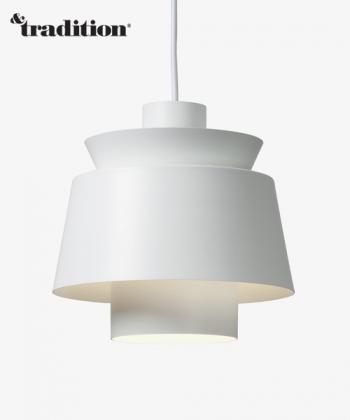 Utzon Pendant lampa wisząca biała   &Tradition   design Jørn Utzon   Design Spichlerz