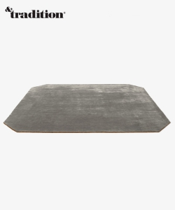 The Moor Rug AP8 dywan granatowy | design All The Way To Paris | &tradition