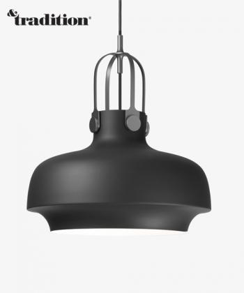 Copenhagen Pendant SC7 lampa wisząca czarna | &Tradition | design Space Copenhagen | Design Spichlerz