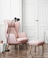 Ro fotel designer selection różowy | Fritz Hansen | design Jaime Hayon