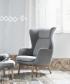 Ro fotel designer selection szary | Fritz Hansen | design Jaime Hayon