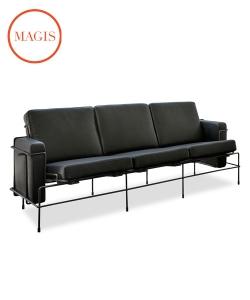 Traffic sofa 3 osobwa | Magis | design Konstantin Grcic