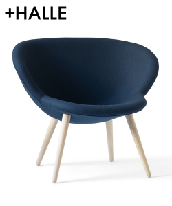 Capri Lounge fotel | +Halle | design busk+hertzog