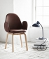 Sammen JH30 duńskie krzesło tapicerowane   design Jaime Hayon   Fritz Hansen