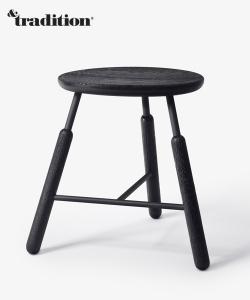 Raft Stool NA3 stołek dąb | &Tradition | Norm Architects | Design Spichlerz