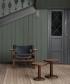 Skórzany fotel Spanish Chair (Fotel Hiszpański)   Fredericia