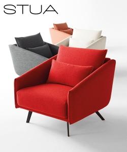 Costura nowoczesny fotel | Stua