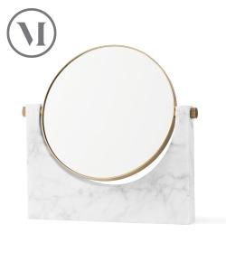 Pepe Marble Mirror zielone skandynawskie lustro marmurowe | Menu