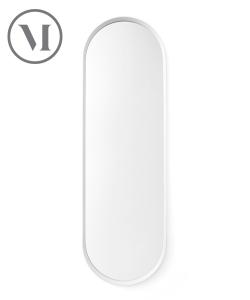 Norm Wall Mirror czarne lustro skandynawskie | Menu