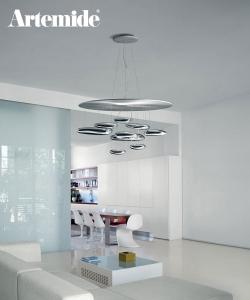 Mercury Sospensione | Artemide | design Ross Lovegrove | Design Spichlerz