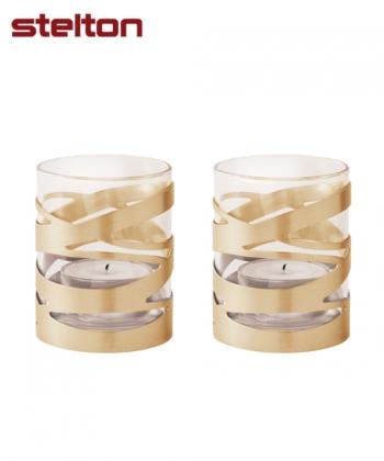 Tangle Świeczniki na Tealighty (2 sztk) skandynawkie świeczniki | Stelton