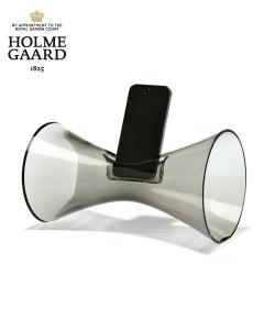 Urania szklany głośnik akustyczny do iPhone | Holmegaard